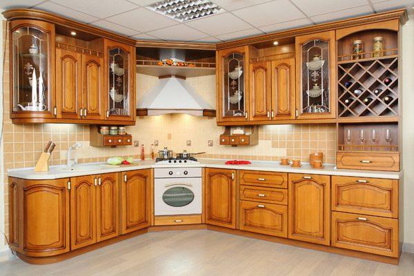 сборка кухни фото