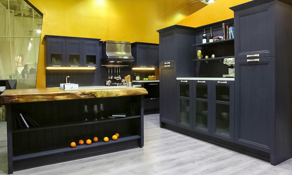 кухни модерн из массива дерева фото